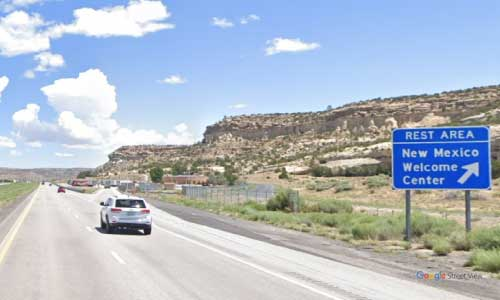 nm i40 rest area eastbound mile marker 3
